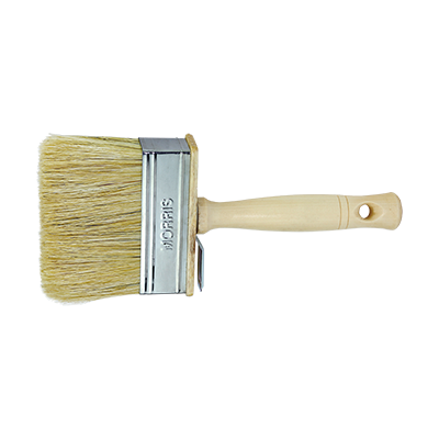 CEILING PAINT BRUSH WOODEN HANDLE A55