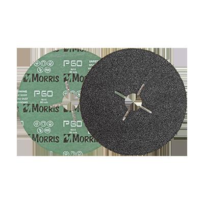 FIBRE DISC BLACK 125MM