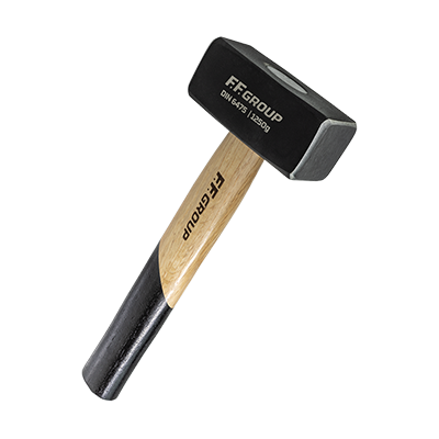 STONING HAMMER WITH WOODEN HANDLE DIN 6475