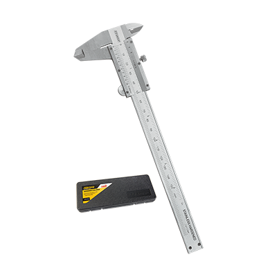 PRECISION PROFESSIONAL VERNIER CALIPER  IN PLASTIC CASE