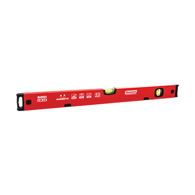 MAGNETIC SPIRIT LEVEL LM12 WITH 2 VIALS