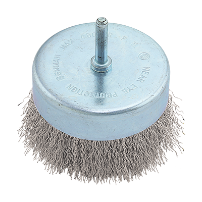 WIRE CUP BRUSH  WITH SHANK