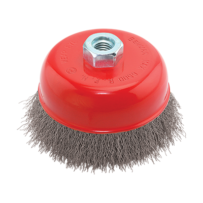 WIRE CUP BRUSH M14