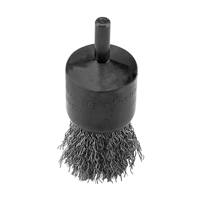 END WIRE BRUSH  WITH SHANK