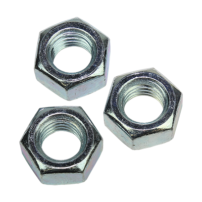 HEX COUPLING NUTS  ZINC PLATED CR3+ DIN 934-6