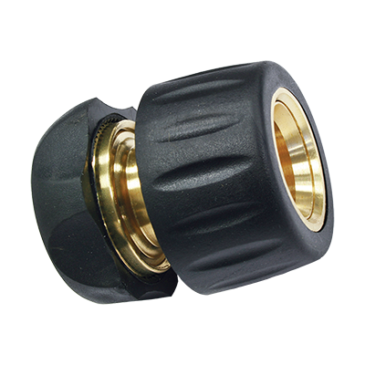 """BRASS QUICK HOSE END CONNECTOR  1/2""""-5/8"""""""