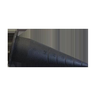 NOZZLE FOR  SAUSAGE GUN ABS PLASTIC