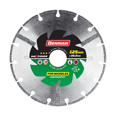 MAXPOWER DIAMOND CUTTING DISC FOR MARBLE