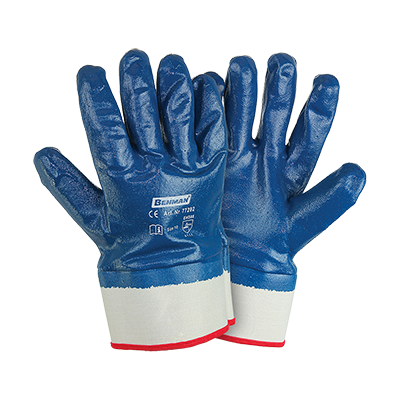 FULLY COATED NITRILE (NBR) GLOVES THICKNESS 1,5MM