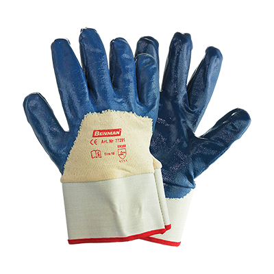 NITRILE (NBR) COATED GLOVES THICKNESS 1,5MM