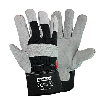 LEATHER CLOTH GLOVES