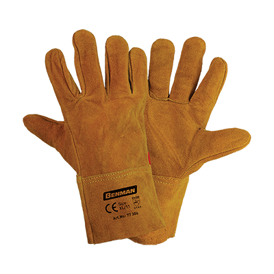 LEATHER GLOVES FOR WELDING 29CM