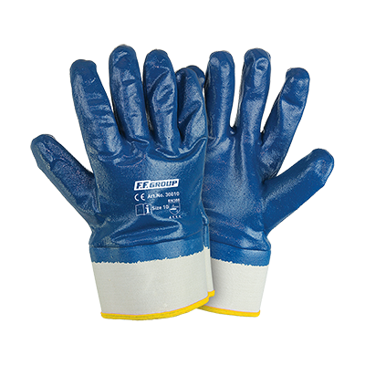 NITRILE (NBR) COATED GLOVES THICKNESS 1,2MM