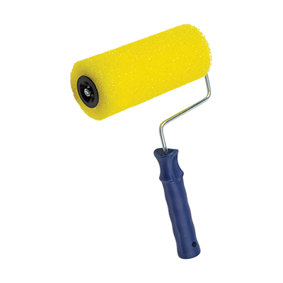 RELIEF PAINT ROLLER WITH HANDLE