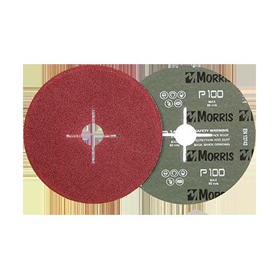 FIBRE DISC RED 125MM