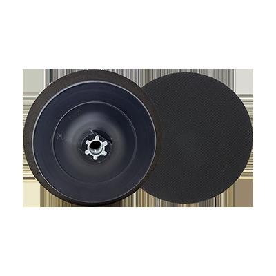 POLISHING BLACK PLASTIC PAD  VELCRO M14