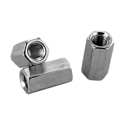 HEX COUPLING NUTS  ZINC PLATED DIN 6334