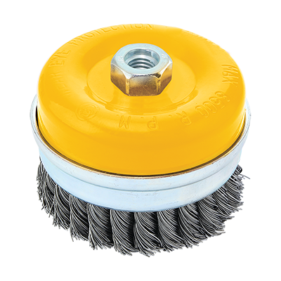 TWISTED KNOT WIRE  CUP BRUSH M14