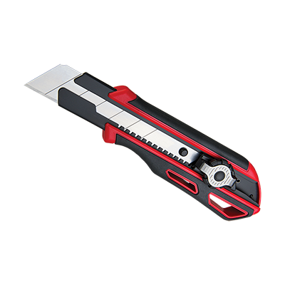 UTILITY KNIFE  DUO LOCK 25MM  1+1 BLADES