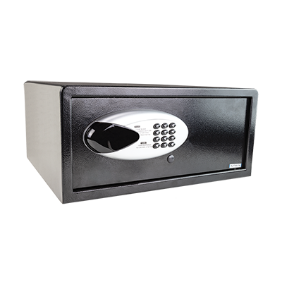 SAFETY BOX FOR HOTELS BLACK
