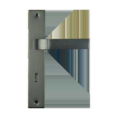INTERNAL DOOR HANDLE ON SQUARE PLATE SET