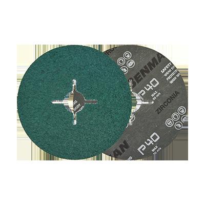 FIBER DISC ZIRGON 150MM