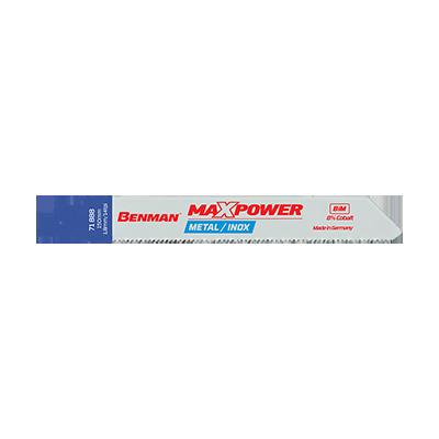 MAXPOWER RECIPROCATING SAW BLADES FOR METAL & ΙΝΟΧ 5 PCS