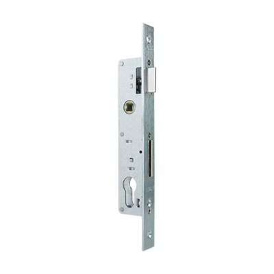 CYLINDER MORTICE LOCK  FOR STEEL & ALUMINIUM DOOR,  WITHOUT STRIKING PLATE