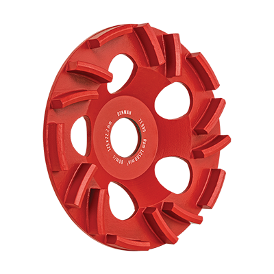 GRINDING DISC FOR  SOFT CONCRETE
